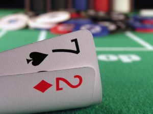 Limit Holdem Bluffing : A Version of the Delayed Bluff