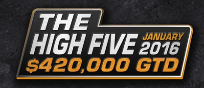 High Five Tournament Series 2016 at Americas Cardroom (Jan 20 – 24)